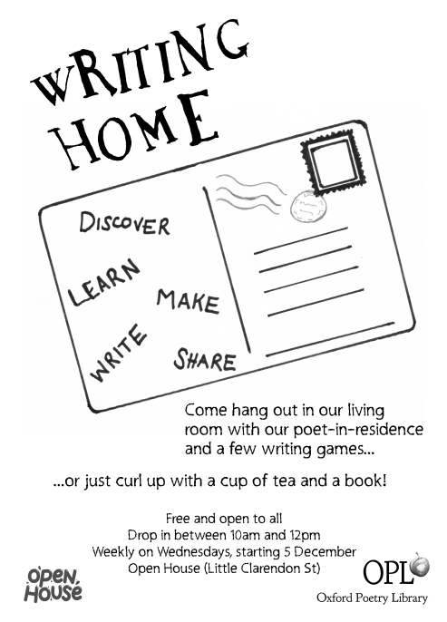 Writing Home flyer